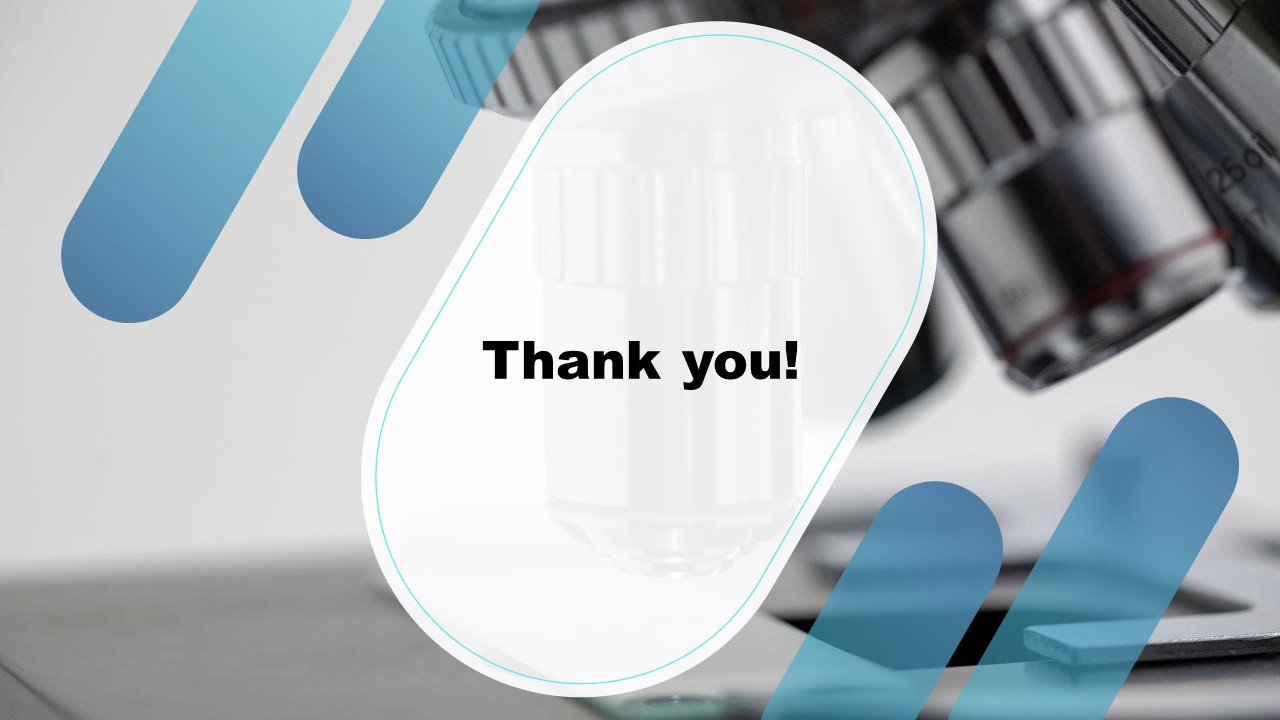 Template of Thank You Experiment Results Presentation