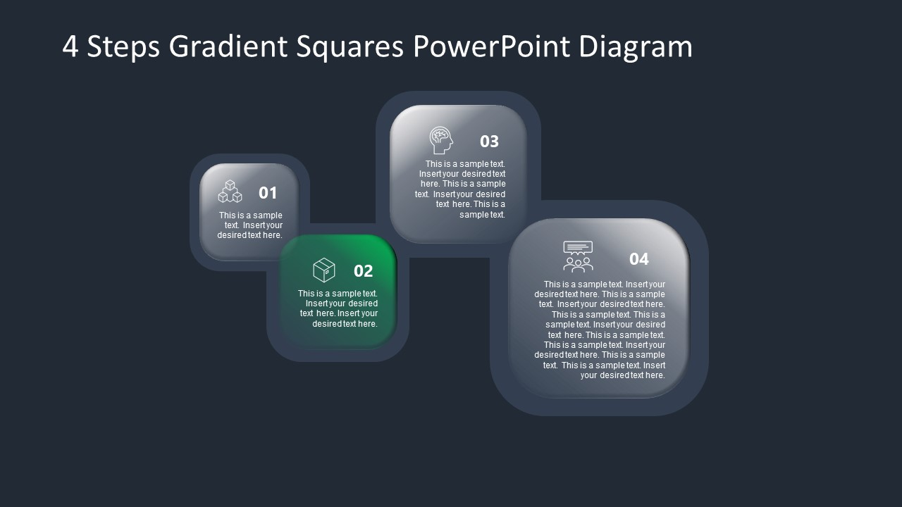 PowerPoint Diagram for Gradient Step 2