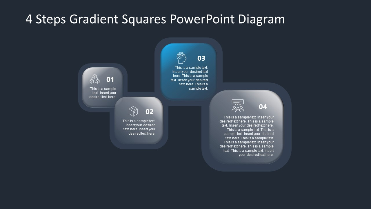 PowerPoint Diagram for Gradient Step 3