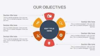 Circular Flat Diagram Design for PowerPoint