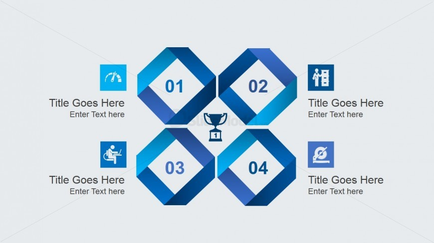Creative Slide Design with 4 Elements