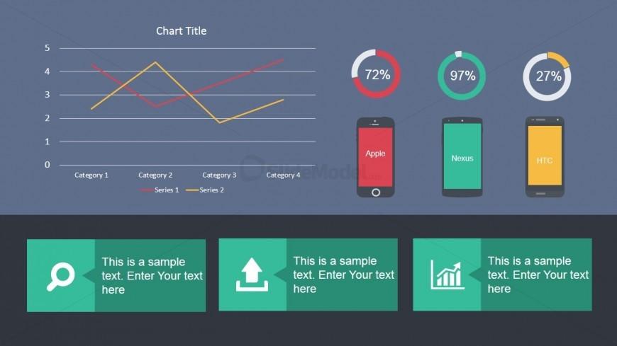 Mobile Technology Analytics Dashboard SlideModel - Analytics dashboard template