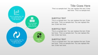 PowerPoint Slide Design with Circular Shapes Diagram