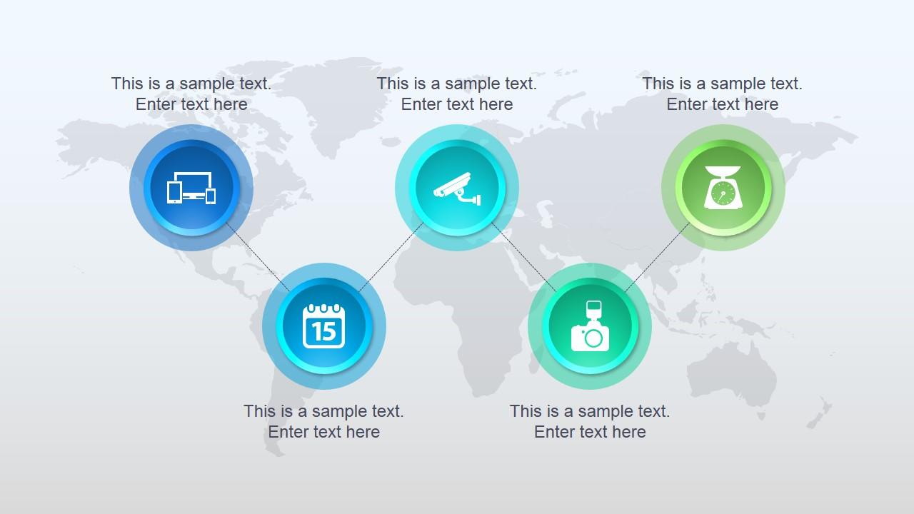elegant global powerpoint template - slidemodel, Global Presentation Template, Presentation templates