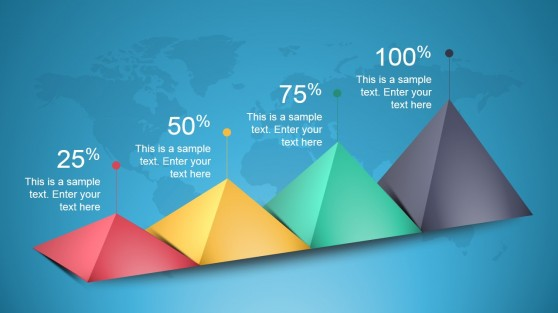 3D Animated Pyramids for PowerPoint