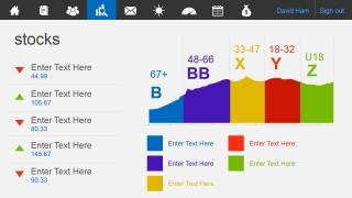 business metro-style dashboard powerpoint template - slidemodel, Ub Presentation Template, Presentation templates