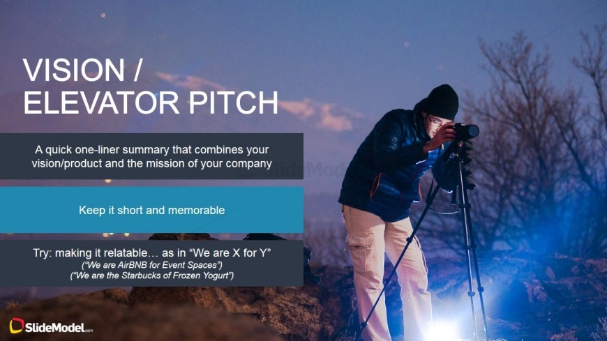 Vision Design of the Elevator Pitch