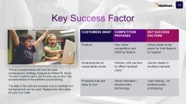 Case Studies Key Success Factors Slide Design
