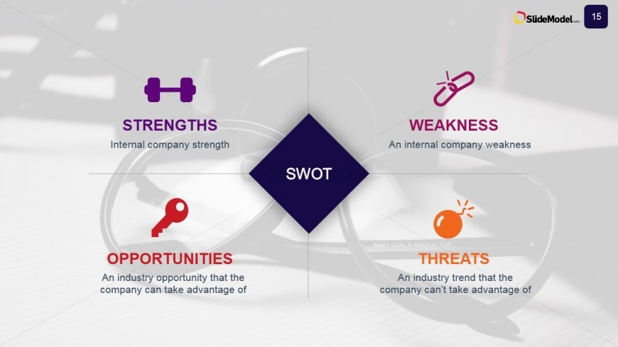 Swot Analysis Powerpoint Template For Case Studies  Slidemodel