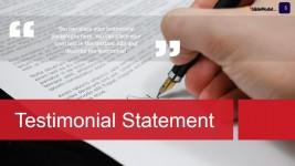 Case Study Testimonials PowerPoint Slide