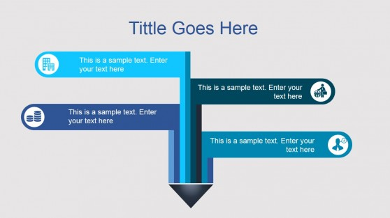 Creative Directions Diagram Layout for PowerPoint