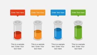 Custom Level Battery Clipart for PowerPoint Slide