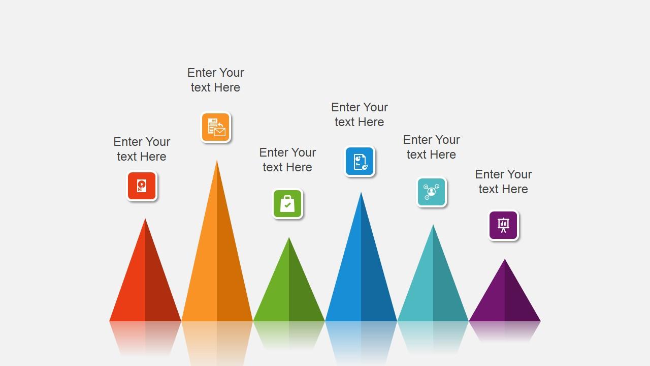 Modern professional powerpoint template slidemodel colorful cone chart for powerpoint presentation content slide design toneelgroepblik Gallery