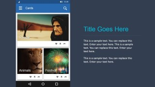 PowerPoint Toolkit Android Materials Design Photo Gallery