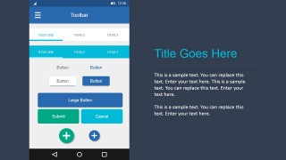 Editable UI Elements in Android Materials Design