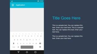 PowerPoint Keyboard in Android Materials Design