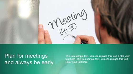 Plan for Meetings Background Design for PowerPoint