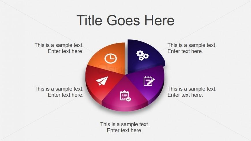 3D Pie Chart Design for PowerPoint