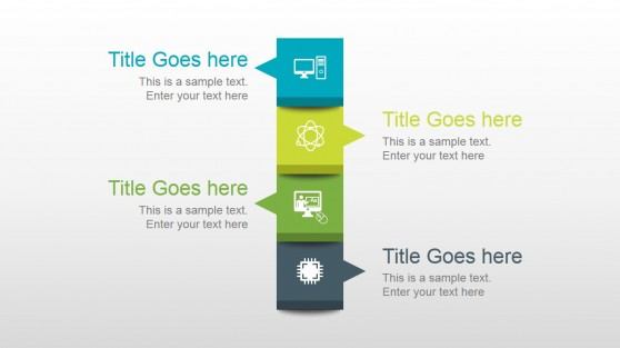Vertical Creative Layout Design for PowerPoint