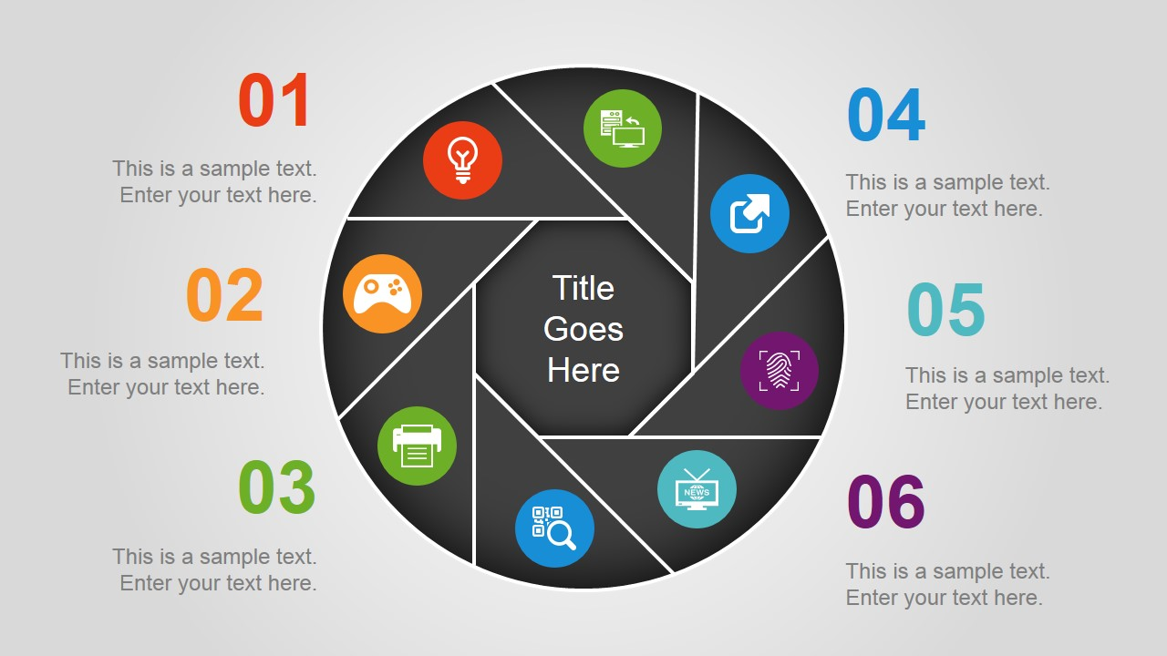 Circular Diagrams Powerpoint Template