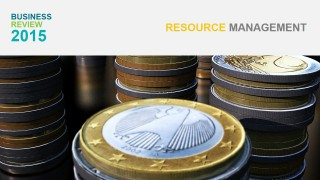Money Background Photo for Resource Management Section