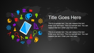 Global education powerpoint template slidemodel create a live educational concept presentation is now possible with the global education powerpoint template beautiful and contrasting colors make up the toneelgroepblik Images