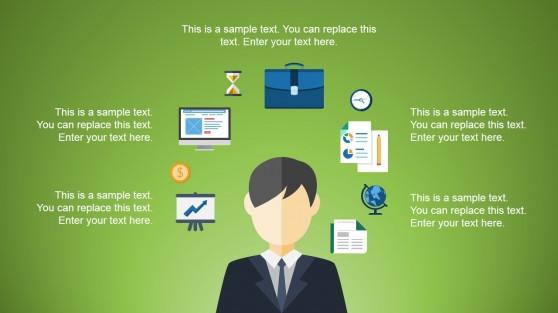 Office Presentation Illustration for PowerPoint