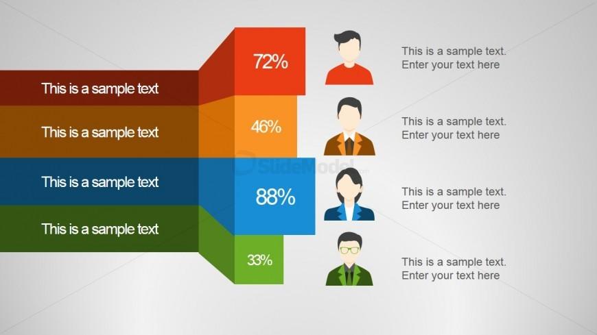 Employee Status Creative Slide Design
