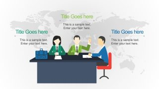 Business PowerPoint Report Infographics