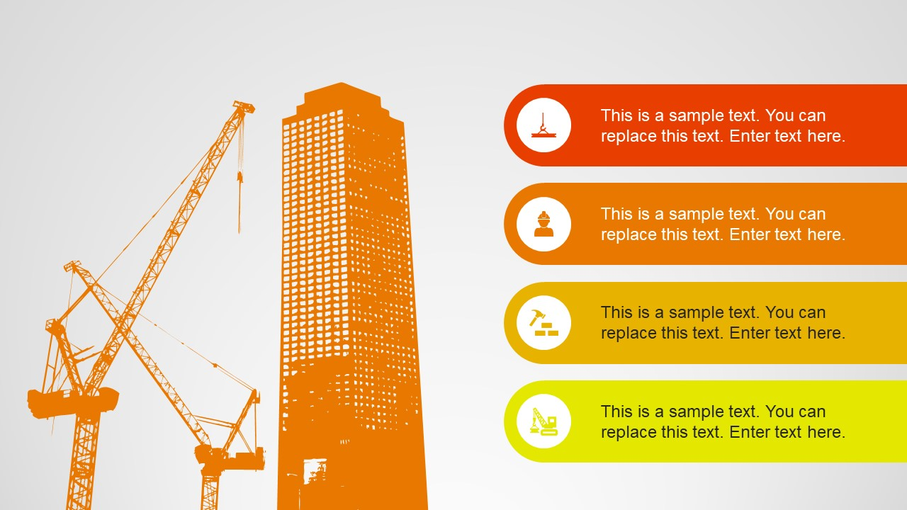 Construction Powerpoint Shapes