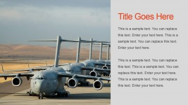 Air Forces Military PowerPoint Slide