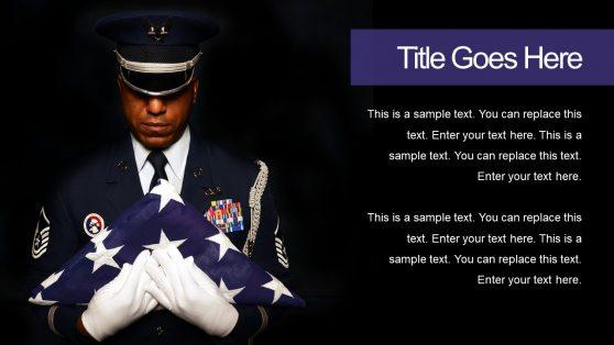 War Veteran Soldier Picture Slide