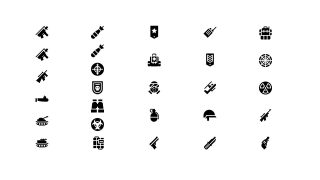 Set of Infographic Icons PPT