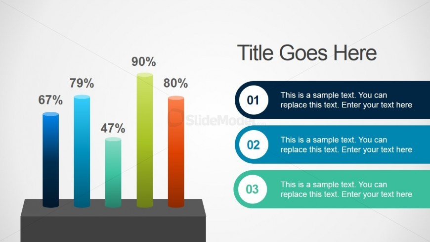 Bar Chart Concept for PowerPoint