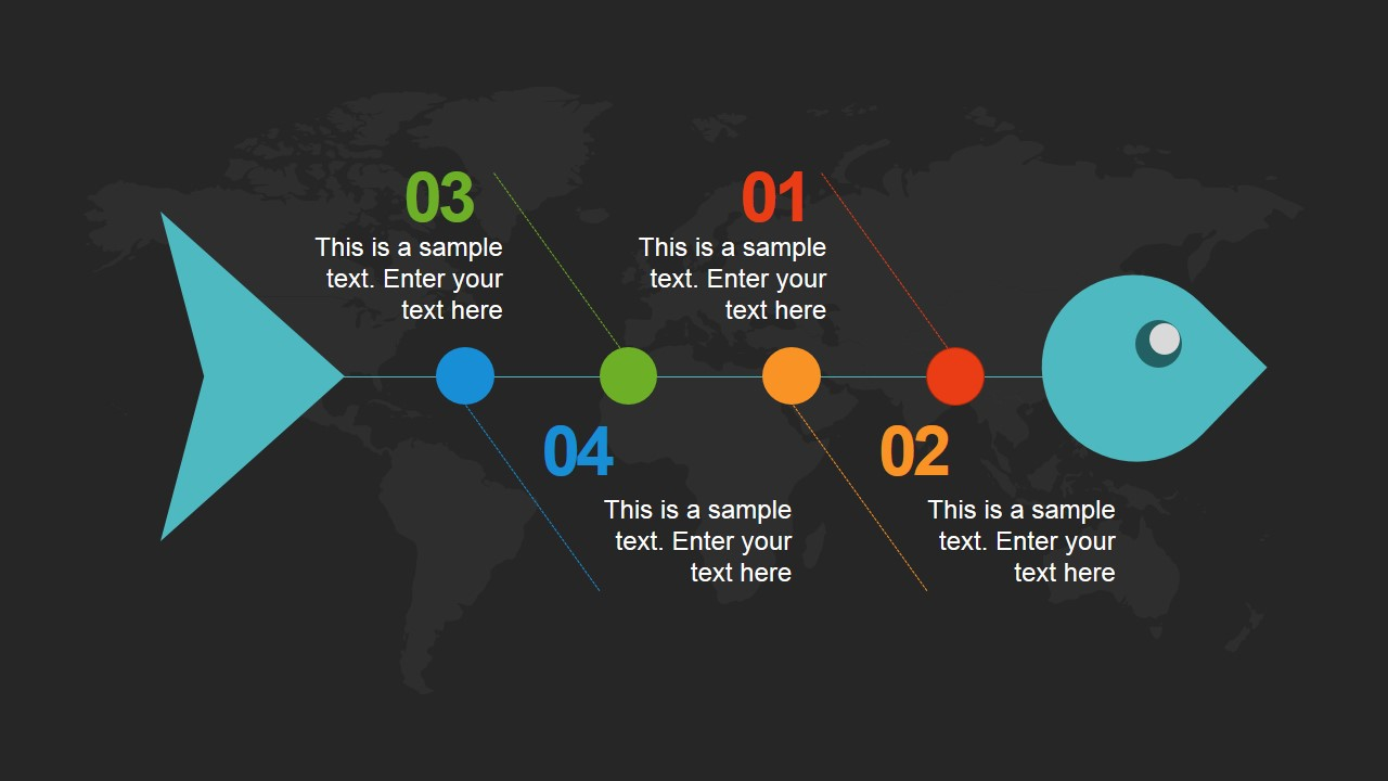 Global Grid PowerPoint Template - SlideModel