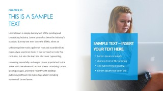 PowerPoint Slide Design for Customers Thoughts Pause