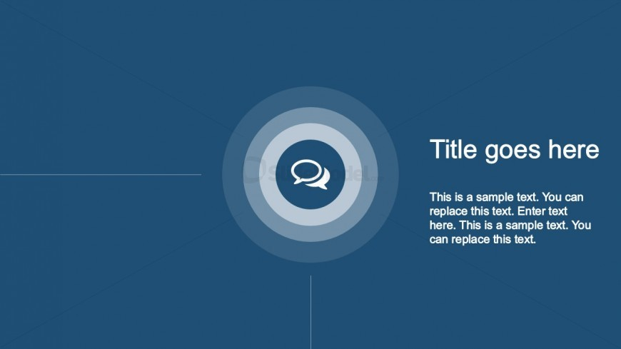 Corner PPT Template Animated Timeline Slide for PowerPoint