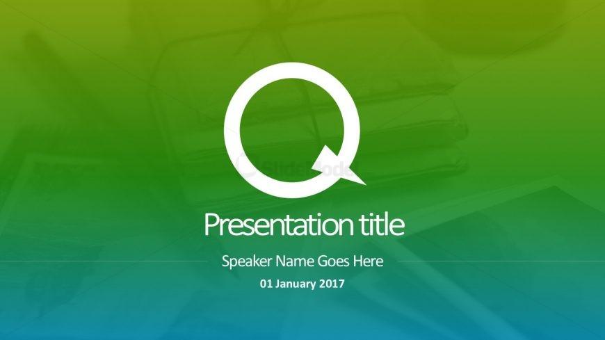 Green Duotone Gradients Graphics PowerPoint
