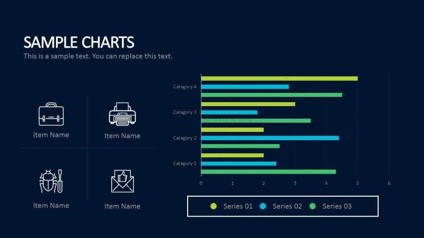Functional  Thin Graph For Business PowerPoint Presentations