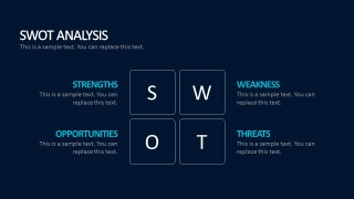 What Is A SWOT Template PowerPoint Design
