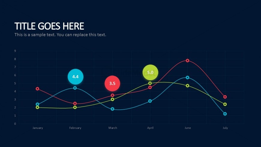 line graph business plan powerpoint templates slidemodel