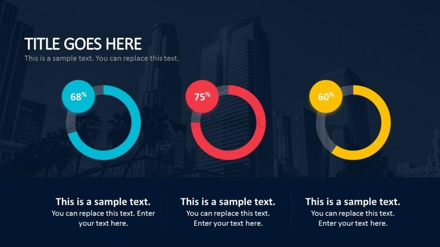 Editable Circular Graph For Business Presentations