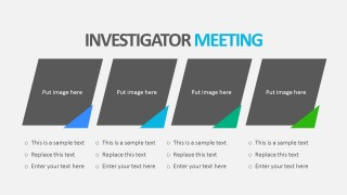 Clinical Investigation PowerPoint With Image Placeholders