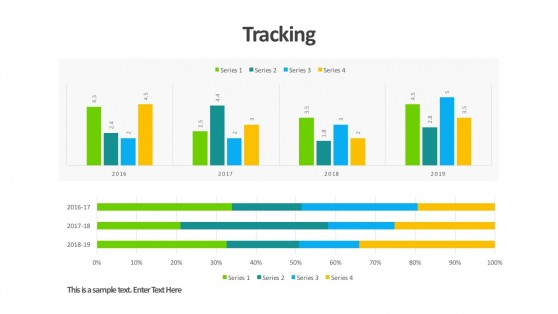 PowerPoint Marketing Dashboard Data Charts