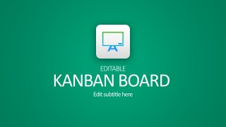 Editable Kanban Board With Sticky Notes