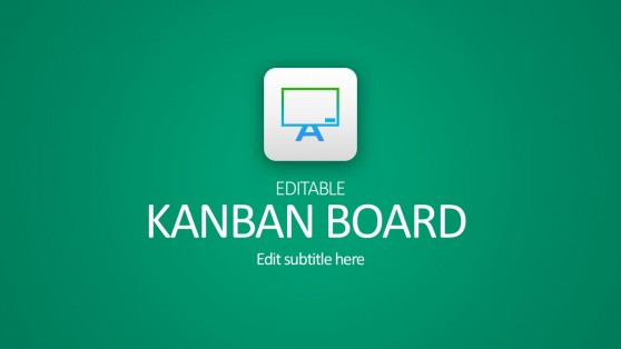 Kanban Board PowerPoint For Business Startups