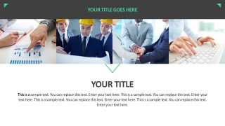 Business Image Portfolio PowerPoint Vectors