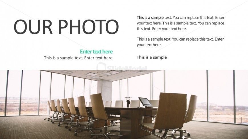 Image Vector With Text Boxes For Business Templates