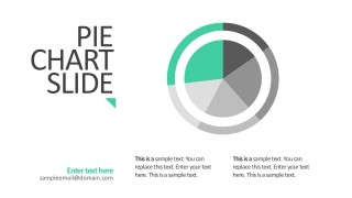 Flat Design Pie Chart Business Presentation Slides