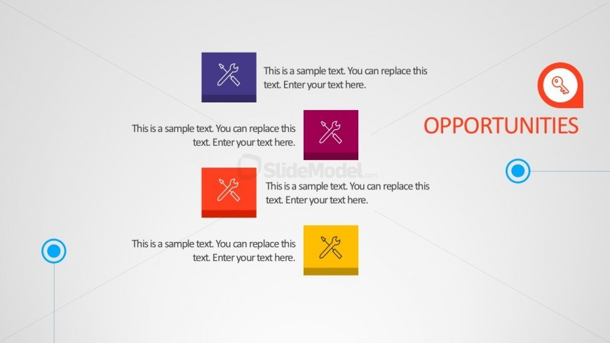 Editable SWOT PowerPoint Vectors And Icons